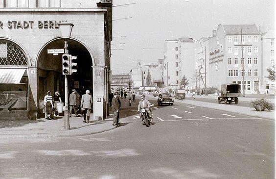 Friedrichstrasse/Unter den Linden junction, East Berlin, 11 September 1959 by allhails, via Flickr