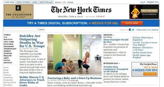 Difícil panorama para los diarios en EE.UU.: También cae la publicidad online