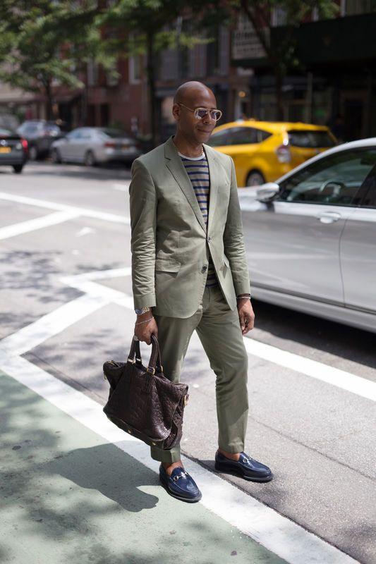 Street Fashion New York Fashion Week Men S Wiosna Lato 2018 Cool Street Fashion Mens Street Style Spring Mens Fashion Week