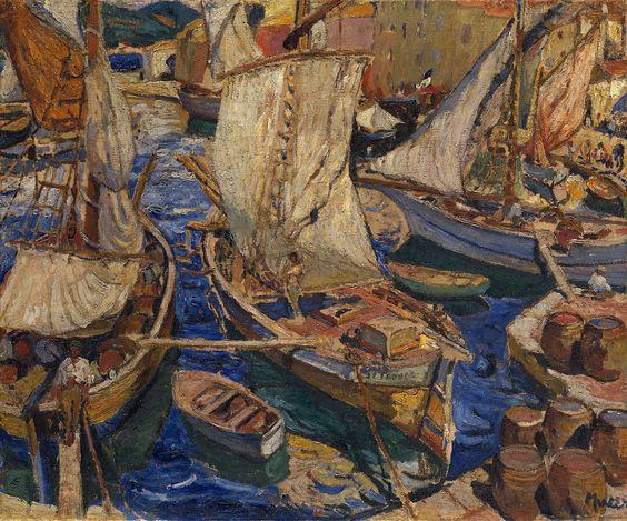 Mela Muter (1876 - 1967) (by deflam)