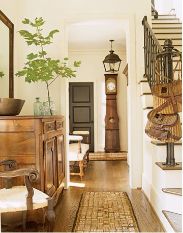 link to decorating posts at Southern Hospitality blog
