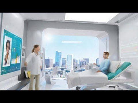The Hospital Visit Of The Future Hospital Futuristic Technology Futuristic