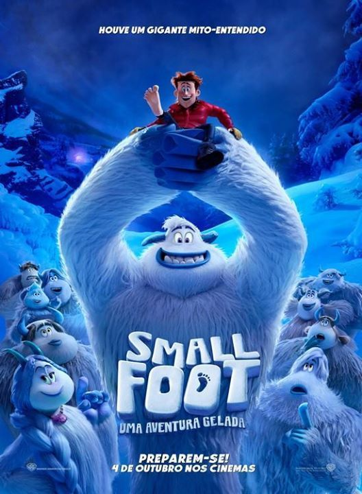 Cinema Smallfoot Uma Aventura Gelada 16 Novembro