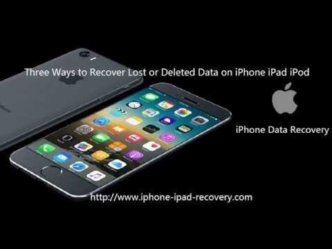 How To Recover Lost Files From Iphones Iphone Iphone Models