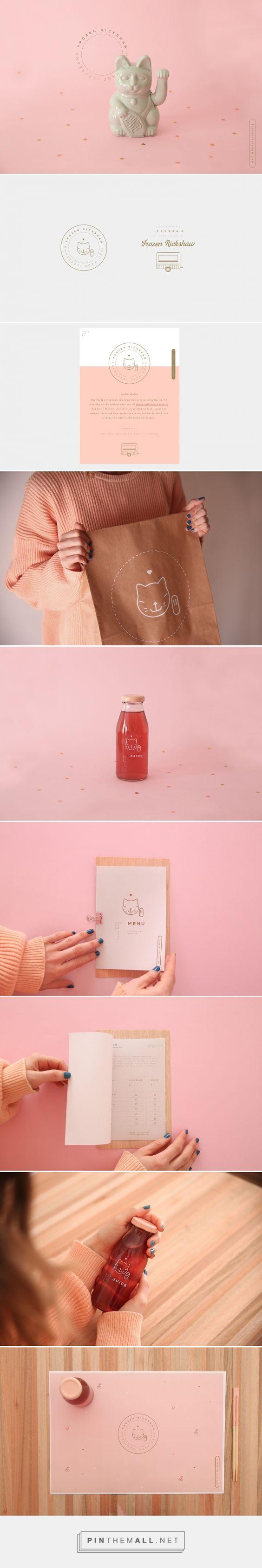 Frozen Rickshaw Branding by Un Barco on Behance   Fivestar Branding – Design and Branding Agency & Inspiration Gallery