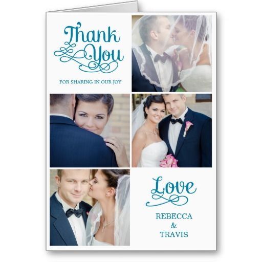 Pinterest The worlds catalog of ideas – Wedding Thank You Cards with Photo Insert