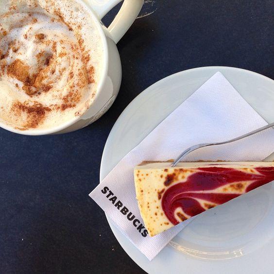 #cake #coffee #time #starbucks #instagram #larskroll