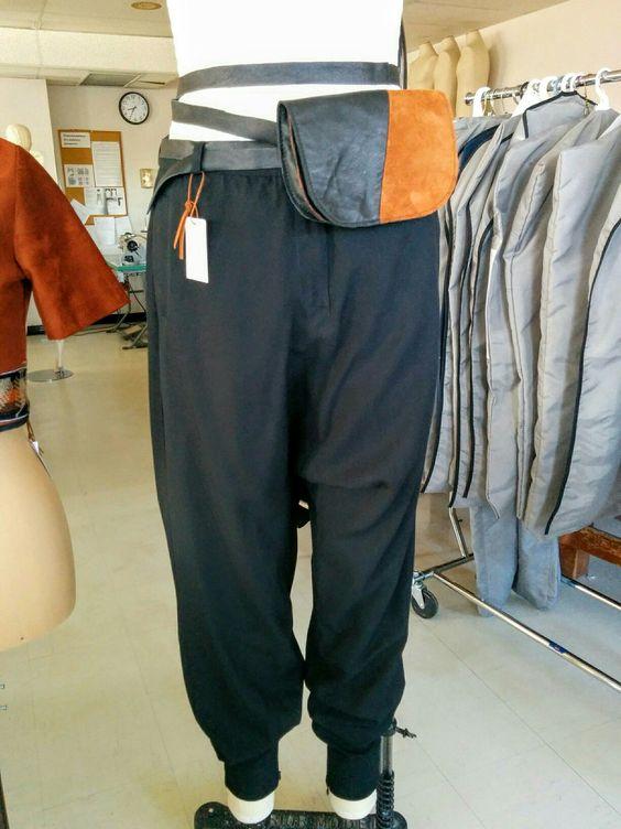 Pantalon sarouel en viscose piquée... #valeriecdesign #fashion