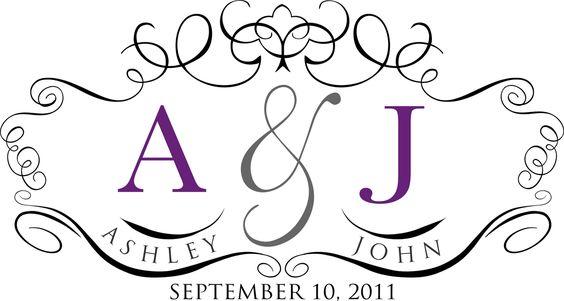 Free Monogram Templates Custom Wedding For Ashley Britt 2017 Ideas Pinterest Monograms And August
