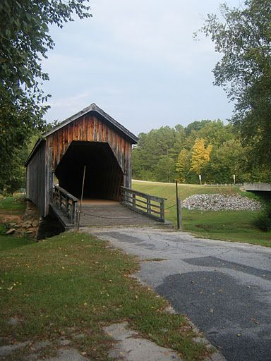 Covered bridge in Georgia...Crawford County. Photo by Vicki Andrews @Ana G. C. Powerful Beyond Measure