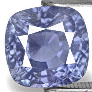 5.13-Carat Eye-Clean Unheated Intense Blue Sapphire (IGI)