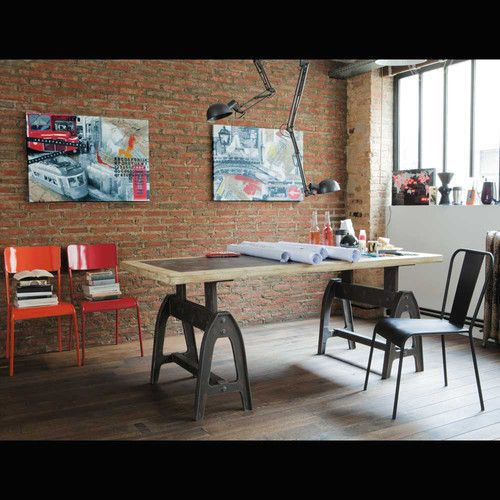 Mesas m taux and tables on pinterest for Commander catalogue maison du monde