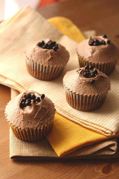 Hummingbird Bakery Chocolate Hazelnut Cupcakes