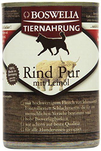 Aus der Kategorie Nassfutter  gibt es, zum Preis von EUR 14,49  ( 6,0 Euro pro kg ) Rind Pur ist ein deftiger und leckerer Gaumenschmaus aus 100 % magerem Rind, verfeinert mit hochwertigem Leinöl. Es ist besonders protein- und mineralstoffreich und damit das ideale Futter für junge und aktive Hunde. Zusammensetzung: 71 % Rinderfleisch, -kehlköpfe, -lunge, -euter, -herz, -pansen, -niere, -leber 27,5 % Rinderfleischbrühe 1 % Mineralstoffe 0,5 % Leinöl Analytische Bestandteile: Rohprotein 12,00…