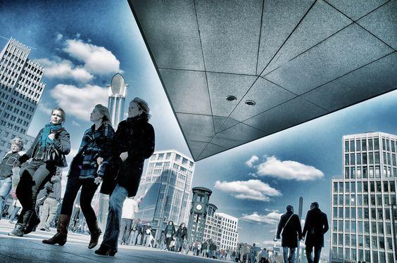 People@Potsdamer Platz Berlin