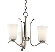 Kichler Armida 3-Light Chandelier in Brushed Nickel, Indoor Chandeliers, Ceiling Lights : ProgressiveLighting.com