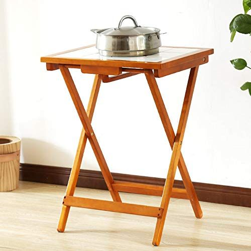 Folding Table Lha Solid Wood Table Small Dining Table Square