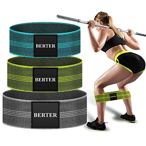 Hip cercle bande GLUTE Resistance Band Deadlift Rotation Exercice Hip Booty Gym