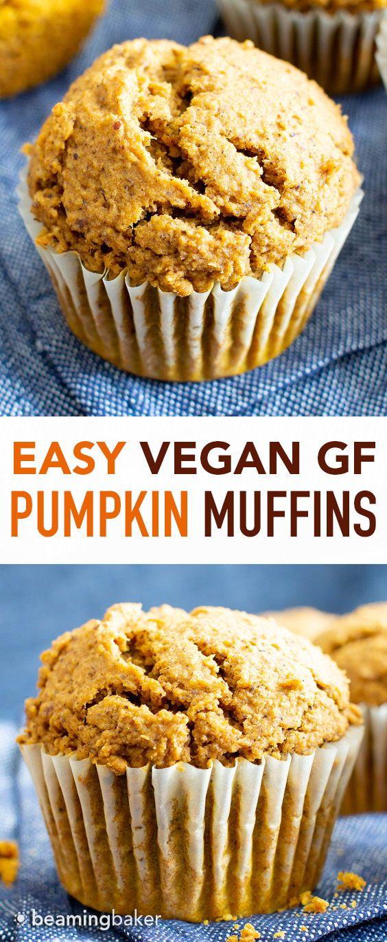Easy Vegan Gluten Free Pumpkin Muffins Recipe V Gf An Easy Recipe For Moist Gluten Free Pumpkin Muffins Pumpkin Muffin Recipes Gluten Free Pumpkin Recipes