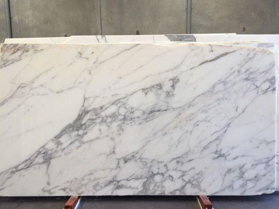 Calacatta Oro Marble, polished, block no 1311.  Available at Marable Slab House in Sydney #marable #marble #calacatta