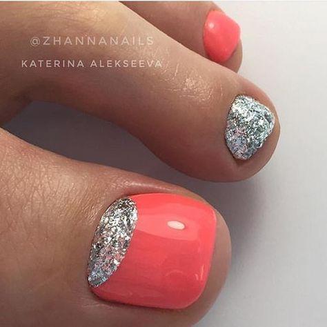 Summer Toe Nail Design Gel Toe Nails Summer Toe Nails Toe Nail Designs