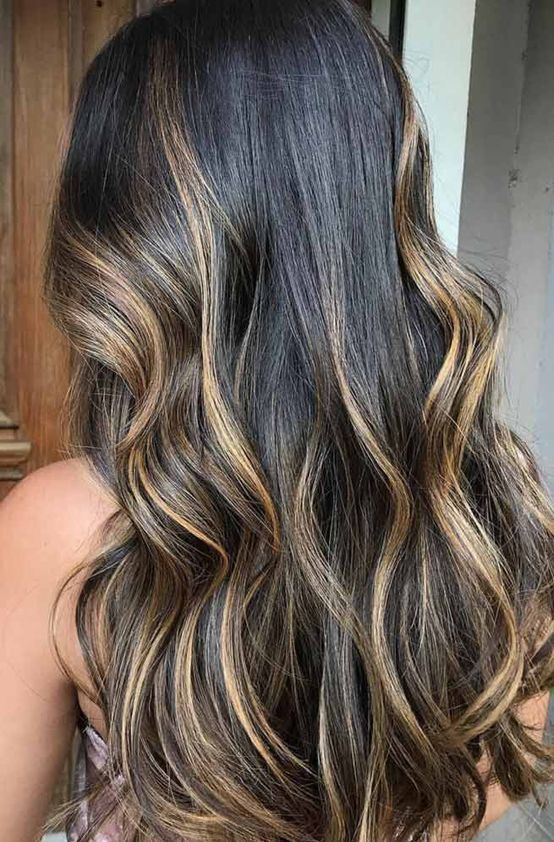 Caramel Blonde Hair Color Ideas For Long Length Hairstyles 2018