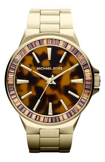 Michael Kors 'Gramercy' Round Bracelet Watch- Nordstorm