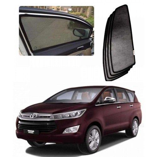 Carhatke Car Sunshades Curtain For Toyota Innova Crysta Set Of 6
