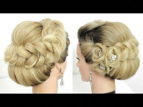 Tutoriel De Mise A Jour Nuptiale Coiffures De Bal De Mariage Pour Cheveux Longs Youtube Updostut Prom Hairstyles For Long Hair Updo Tutorial Diy Hairstyles