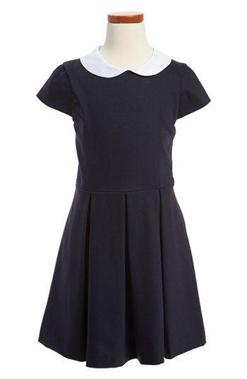 Oscar de la Renta Cap Sleeve Dress (Toddler Girls, Little Girls & Big Girls) | Nordstrom