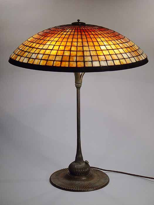 24 Parasol Tiffany Lamp 1520 Tiffany Reproduction By Grotepass Studios In 2020 Tiffany Lampen Glaslampen Antike Lampe