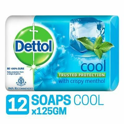 Details About Dettol Natural Cool Soap Deep Cleanses For All Skin