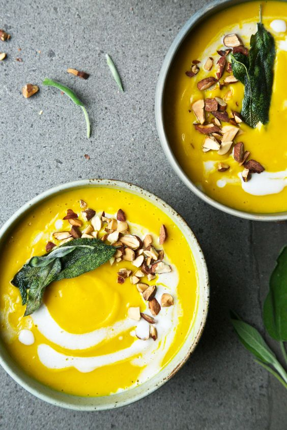 Butternut squash, Turmeric and Squashes on Pinterest