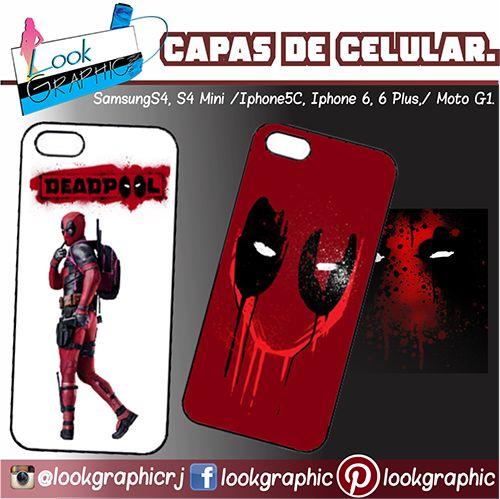 Venha conferir!! Capas personalizadas para seu celular.  #deadpool #caneca #porcelana  #impressão  #grafica #camisa #camiseta #papel #sublimação #almofada #quebracabeça #cartãodevisita #folder #toalha #capacelular #marvel #movie #