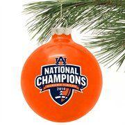 For the Auburn Christmas tree