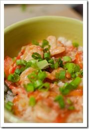 GARLIC SHRIMP WITH COCONUT, TOMATO, & CILANTRO 1 lb. jumbo shrimp ...