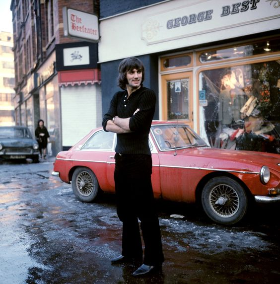 George Best, late 1960s.