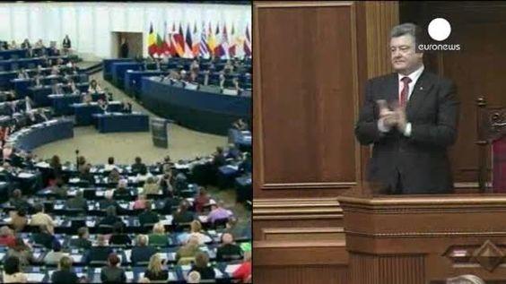 Tras meses de espera y una revolución, la UE y Ucrania ratifican su acuerdo de asociación