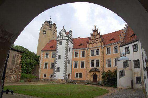 Schloss Strehla in Sachsen (Familie von Pflugk)