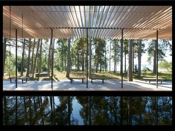 Arkitektur arkitektur sweden : Skogssauna Tomtebo. Slideshow of Forest Sauna in Tomtebo, Sweden ...