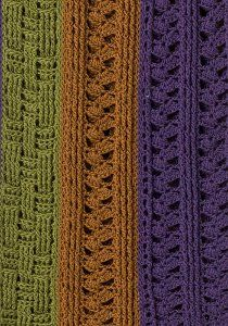 Dublin Afghan -stripes and basket weave stitches. Free Pattern. Skill~Intermediate.