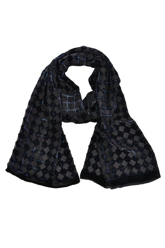 #GiorgioArmani | Luxuriöser kuschelweicher #Samtschal | Giorgio Armani #Schal | mymint-shop.com | Ihr Online Shop für #Secondhand / #Vintage #Designerkleidung & #Accessoires bis zu -90% vom Neupreis das ganze Jahr