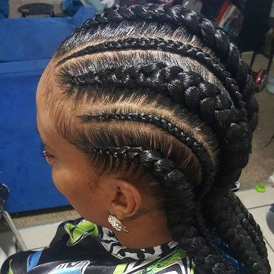 31 Stylish Ways to Rock Cornrows Rocks, Cornrow designs and Design