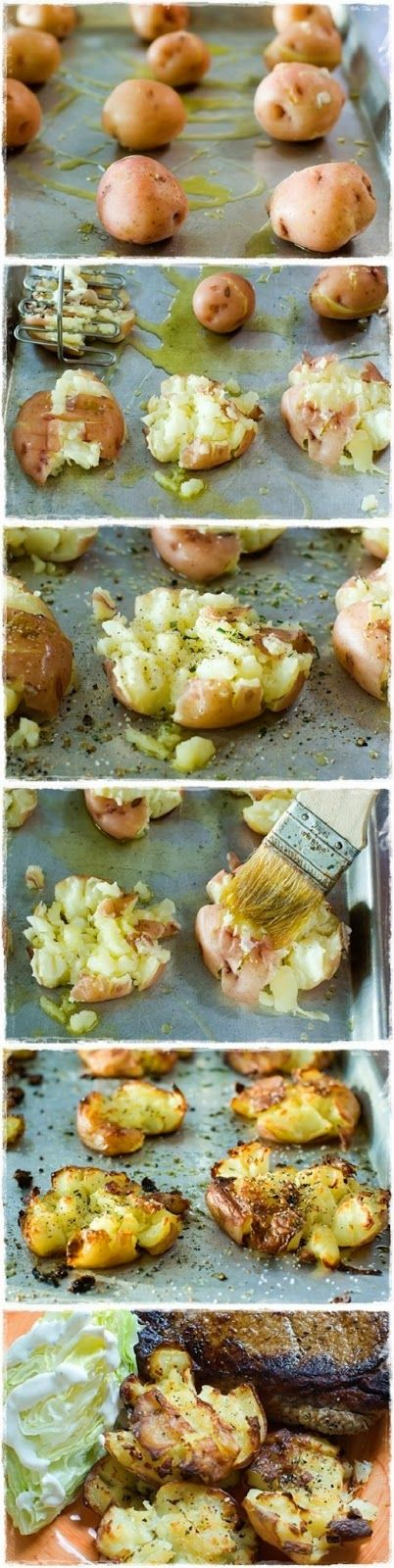 Crash Hot Potatoes | Recipe | Crash hot potatoes, Restaurant and Salts