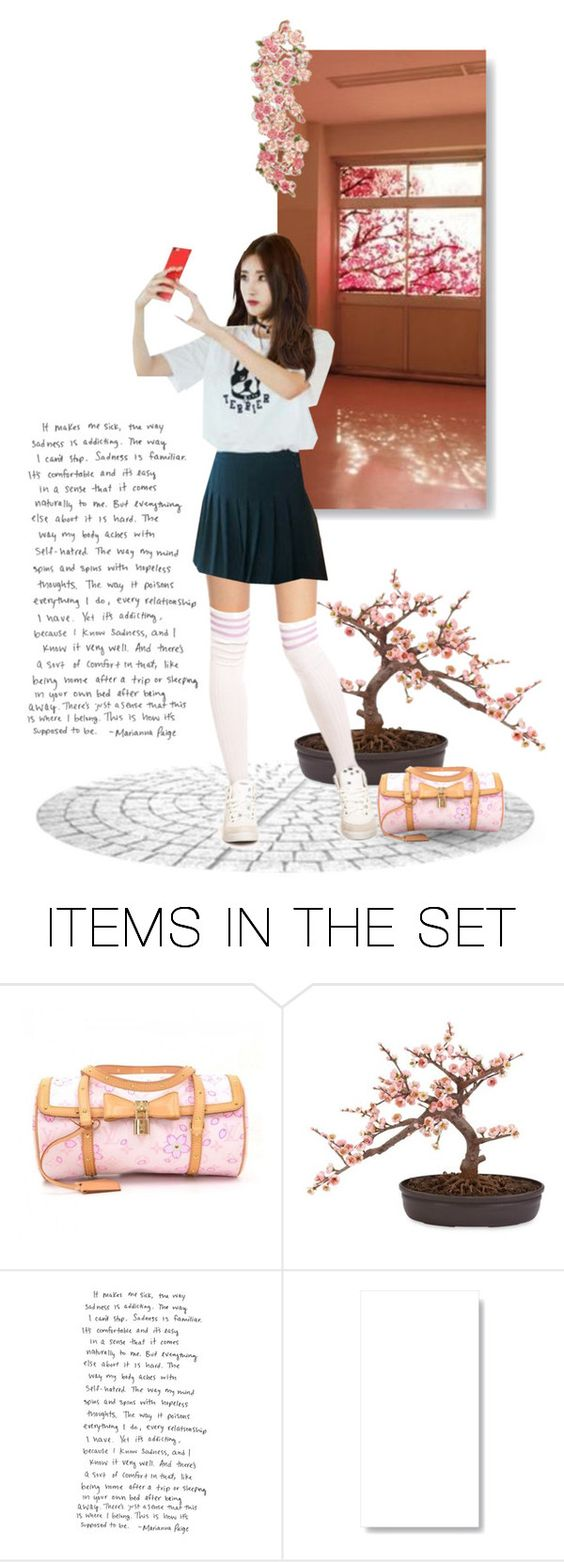 """Nine Muses - Hyuna"" by kairimikio ❤ liked on Polyvore featuring art and bathroom"