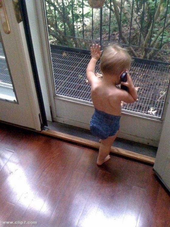 Fotos Locas Imagenes Divertidas Imagenes Divertidas Nene Hablando Por Telefono Funny Mom Memes Funny Baby Memes Funny Jokes