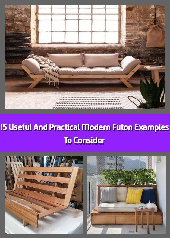 15 Useful And Practical Modern Futon Examples To Consider 2020