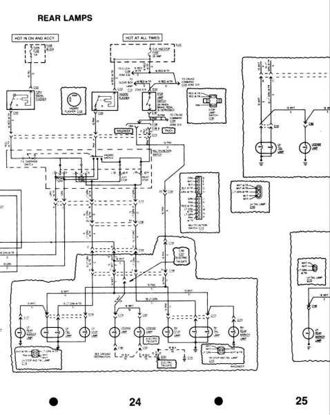 wiring diagram for 1990 chevy pickup with deisel engine and