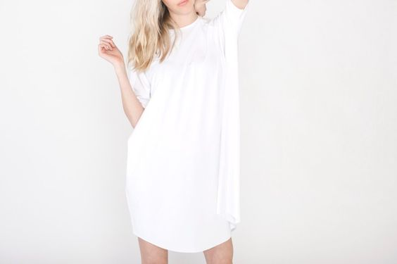 Short-Sleeved Raglan Dress – Tessa Hughes:
