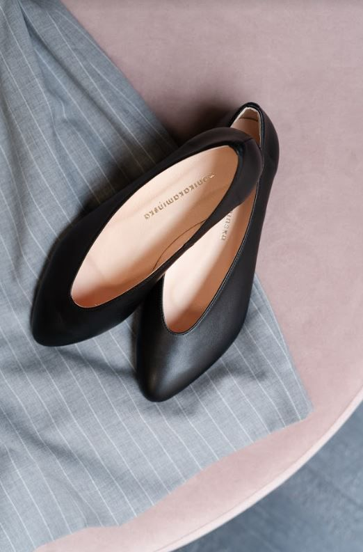 Eleganckie Balerinki Na Wiosne Ballet Flats Chanel Ballet Flats Shoes